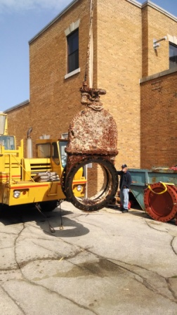 Massive Valve Replacement at Water Utility Plant » Sheboygan